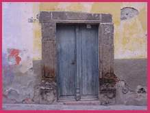 Old Doorway; Actual size=240 pixels wide